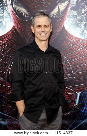 C. Thomas Howell at the Los Angeles premiere of 'The Amazing Spider-Man' held at the Regency Village Theatre in Westwood on June 28, 2012.
