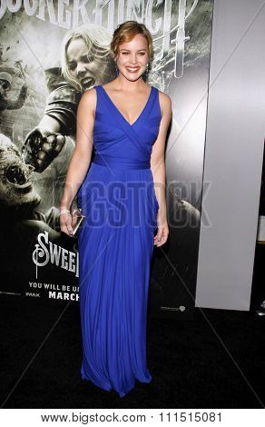 Abbie Cornish at the Los Angeles premiere of 'Sucker Punch' held at the Grauman's Chinese Theater in Hollywood on March 23, 2011.