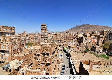 Yemen, The Old City Of Sanaa