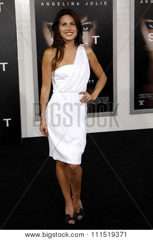Vail Bloom at the Los Angeles premiere of 'Salt