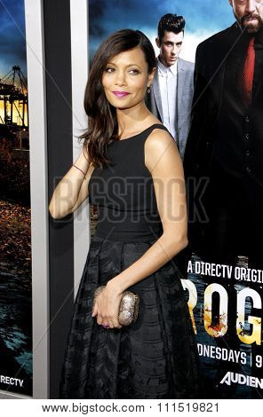 Thandie Newton at the Los Angeles premiere of