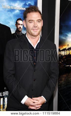 Marton Csokas at the Los Angeles premiere of
