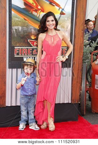 Joyce Giraud at the Los Angeles premiere of