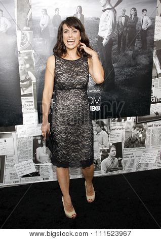 Los Angeles, USA - July 10, 2013: Constance Zimmer at the HBO's Season 2 Premiere of
