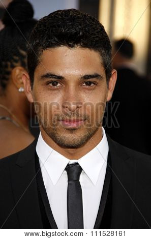 Wilmer Valderrama at the Los Angeles premiere of 'Larry Crowne' held at the Grauman's Chinese Theatre in Hollywood on June 27, 2011.