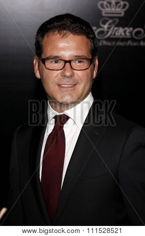 Pierre Rainero at the Rodeo Drive Walk of Style Award honoring Princess Grace Kelly of Monaco and Cartier in Beverly Hills on October 22, 2009.