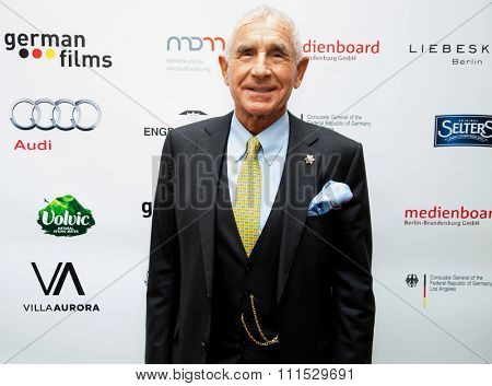 Frederic Prinz von Anhalt at the Consulate General of the Federal Republic Of Germany's German Oscar nominees reception held at Villa Aurora in Pacific Palisades on February 21, 2015.