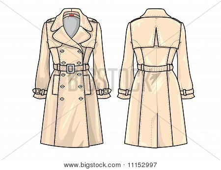 Fashion Plate:Trench