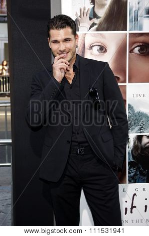 Gleb Savchenko at the Los Angeles premiere of 'If I Stay