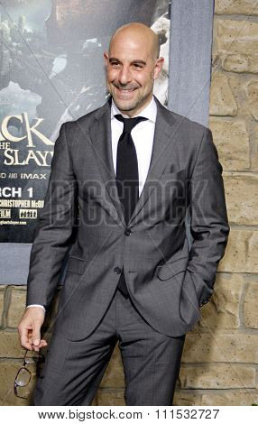 Stanley Tucci at the Los Angeles premiere of