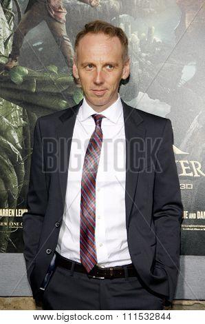 Ewen Bremner at the Los Angeles premiere of