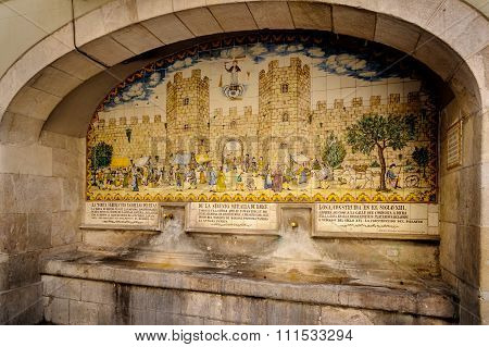 Fountain of Porta Ferrissa