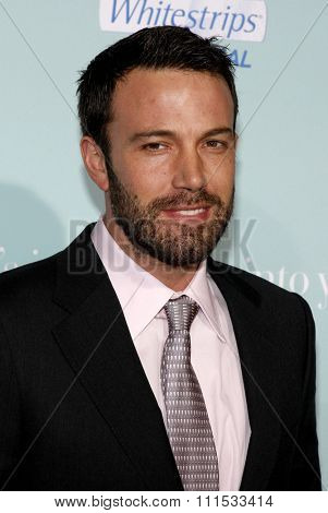 Ben Affleck at the Los Angeles premiere of 'He's Just Not That Into You' held at the Grauman's Chinese Theater in Hollywood on February 2, 2009.