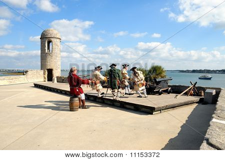 Soldiers Of The Castillo de San Marcos