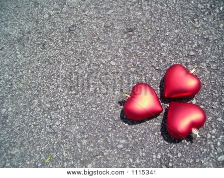 Three Hearts With Copyspace