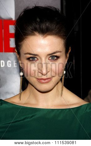 Caterina Scorsone at the Los Angeles premiere of Edge Of Darkness held at the Grauman Chinese Theatre in Hollywood on January 26, 2010.