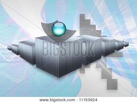 Diagrama de barras 3D
