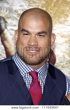 Tito Ortiz at the Los Angeles premiere of