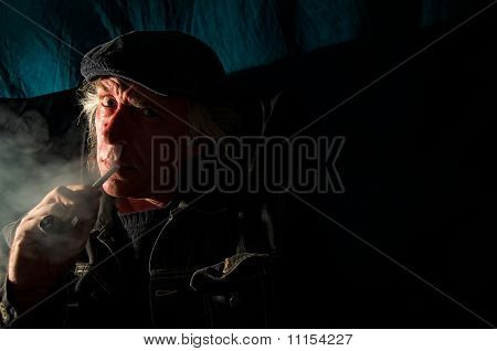 Scary Man In The Dark