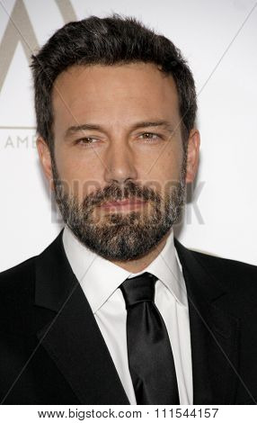 Ben Affleck at the 24th Annual Producers Guild Awards held at the Beverly Hilton Hotel in Beverly Hills, USA on January 26, 2013.