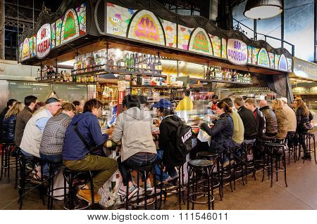 Bar Boqueira Barcelona