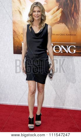 Kate Vernon at the Los Angeles premiere of 'The Last Song' held at the ArcLight Cinemas in Hollywood, USA on March 25, 2010.