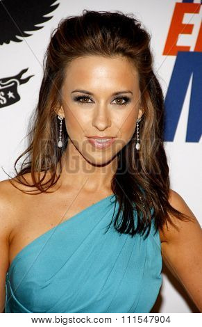 Lacey Chabert at the 19th Annual Race To Erase MS held at the Hyatt Regency Century Plaza in Century City, USA on May 18, 2012.