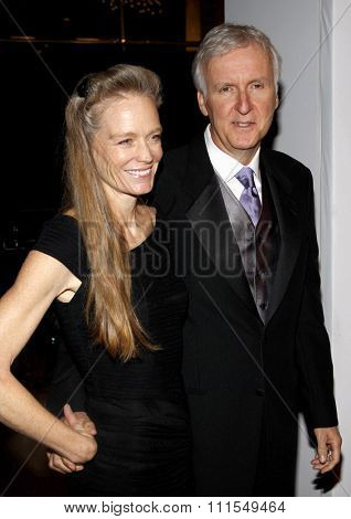 Suzy Amis and James Cameron at the 22nd Annual Producers Guild Awards held at the Beverly Hilton hotel in Beverly Hills, USA on January 22, 2011.