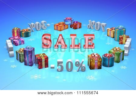 Christmas Discounts (dumping,%, Percentages, Purchase, Sale)