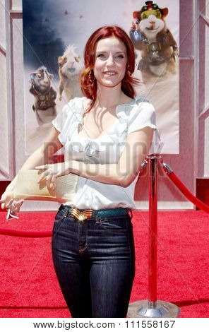 Kelli Garner at the World premiere of 'G-Force' held at the El Capitan Theater in Hollywood, USA on July 19, 2009.