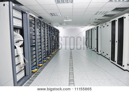 Netzwerk-Server-Raum