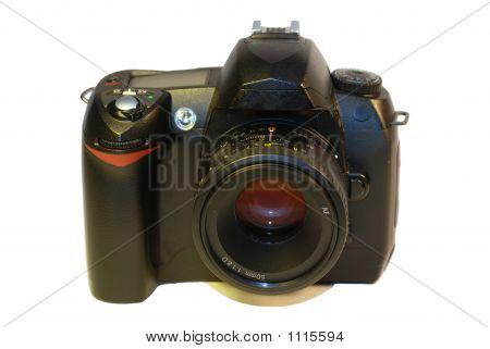 Dslr Camera With A Prime Lens