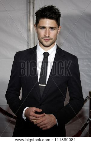 HOLLYWOOD, CA - DECEMBER 07, 2009: Matt Dallas at the Los Angeles premiere of 'The Lovely Bones' held at the Grauman's Chinese Theater in Hollywood, USA on December 7, 2009.