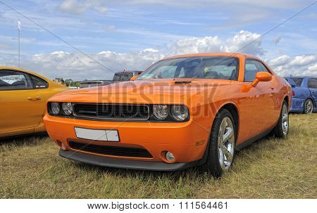 legendary muscle car Dodge Challenger