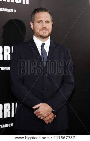 HOLLYWOOD, CA - SEPTEMBER 06, 2011: Sam Sheridan at the Los Angeles premiere of 'Warrior' held at the ArcLight Cinemas in Hollywood, USA on September 6, 2011.