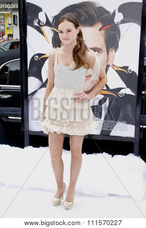 HOLLYWOOD, CA - JUNE 12, 2011: Madeline Carroll at the Los Angeles premiere of 'Mr. Popper's Penguins' held at the Grauman's Chinese Theatre in Hollywood, USA on June 12, 2011.