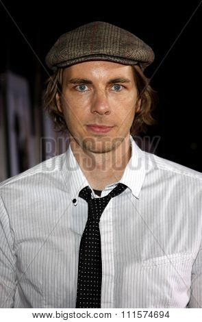 HOLLYWOOD, CA - NOVEMBER 09, 2009: Dax Shepard at the World premiere of 'Old Dogs' held at the El Capitan Theater in Hollywood, USA on November 9, 2009.