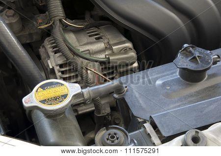 Engine Car Coolant  Motor Mechanic Concept