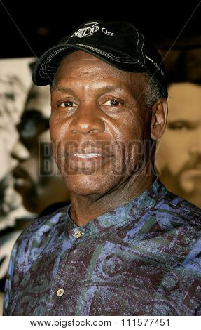 HOLLYWOOD, CA - DECEMBER 07, 2004: Danny Glover at the Los Angeles premiere of 'Blade: Trinity' held at the Grauman's Chinese Theater in Hollywood, USA on December 7, 2004.