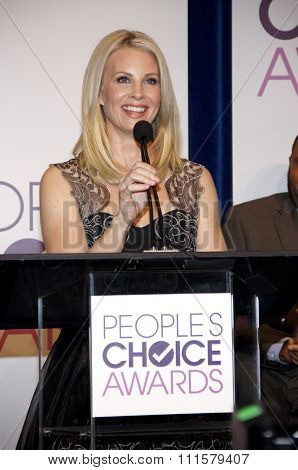BEVERLY HILLS, CA - NOVEMBER 15, 2012: Monica Potter at the People's Choice Awards 2013 Nominations held at the Paley Center in Beverly Hills, USA on November 15, 2012.