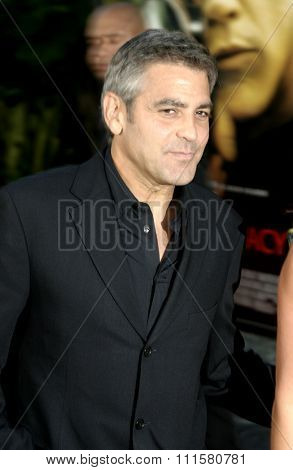HOLLYWOOD, CA - JULY 15, 2004: George Clooney at the World premiere of 'The Bourne Supremacy' held at the ArcLight Cinema in Hollywood, USA on July 15, 2004.