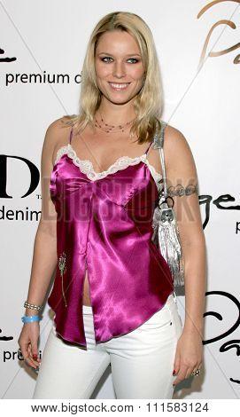 BEVERLY HILLS, CALIFORNIA. November 17, 2005. Kiera Chaplin at the