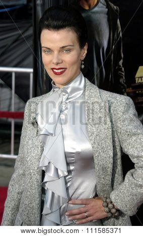 2 August 2004 - Los Angeles, California - Debi Mazar. The World Premiere of 'Collateral' at the Orpheum Theatre in downtown Los Angeles.