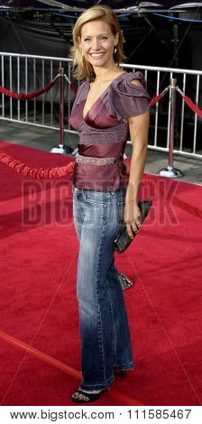2 August 2004 - Los Angeles, California - KaDee Strickland. The World Premiere of 'Collateral' at the Orpheum Theatre in downtown Los Angeles.