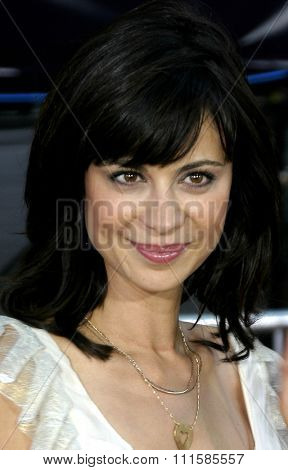 2 August 2004 - Los Angeles, California - Catherine Bell. The World Premiere of 'Collateral' at the Orpheum Theatre in downtown Los Angeles.