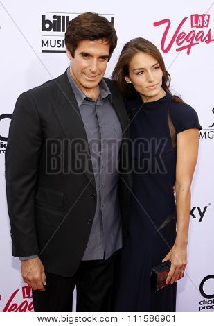 LAS VEGAS, NV - MAY 17: 2015: David Copperfield at the 2015 Billboard Music Awards held at the MGM Garden Arena in Las Vegas, USA on May 17, 2015.