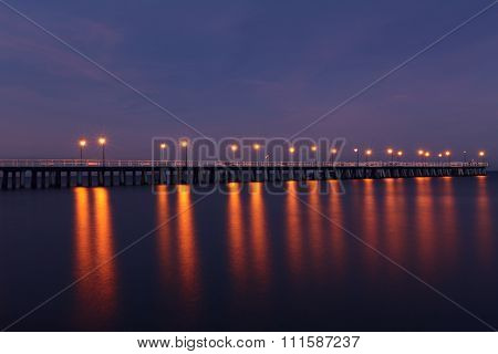 The Longest Pier In Poland