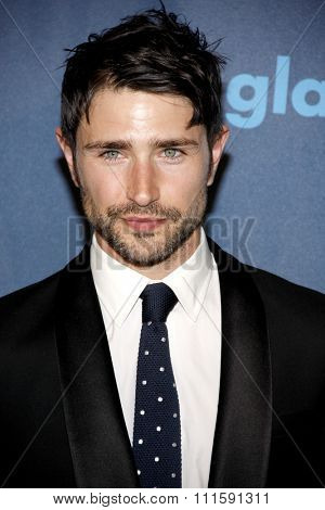 Matt Dallas at the 24th Annual GLAAD Media Awards held at the JW Marriott Los Angeles at L.A. LIVE in Los Angeles, USA on April 20, 2013.