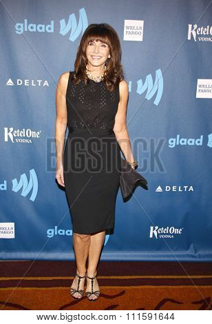 Mary Steenburgen at the 24th Annual GLAAD Media Awards held at the JW Marriott Los Angeles at L.A. LIVE in Los Angeles, USA on April 20, 2013.