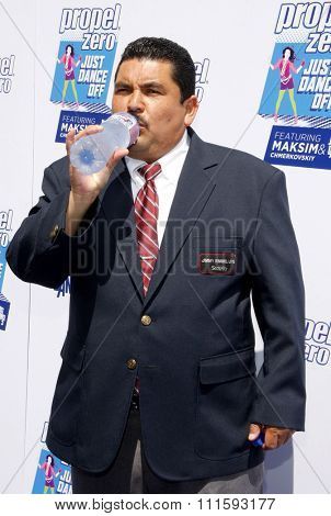 Guillermo Rodriguez at the Propel Zero Just Dance Off held at the Jimmy Kimmel Live! Studio Lot in Hollywood, USA on April 29, 2012.